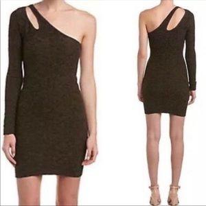 NEW BCBGENERATION Asymmetrical Sleeve Dress M/L